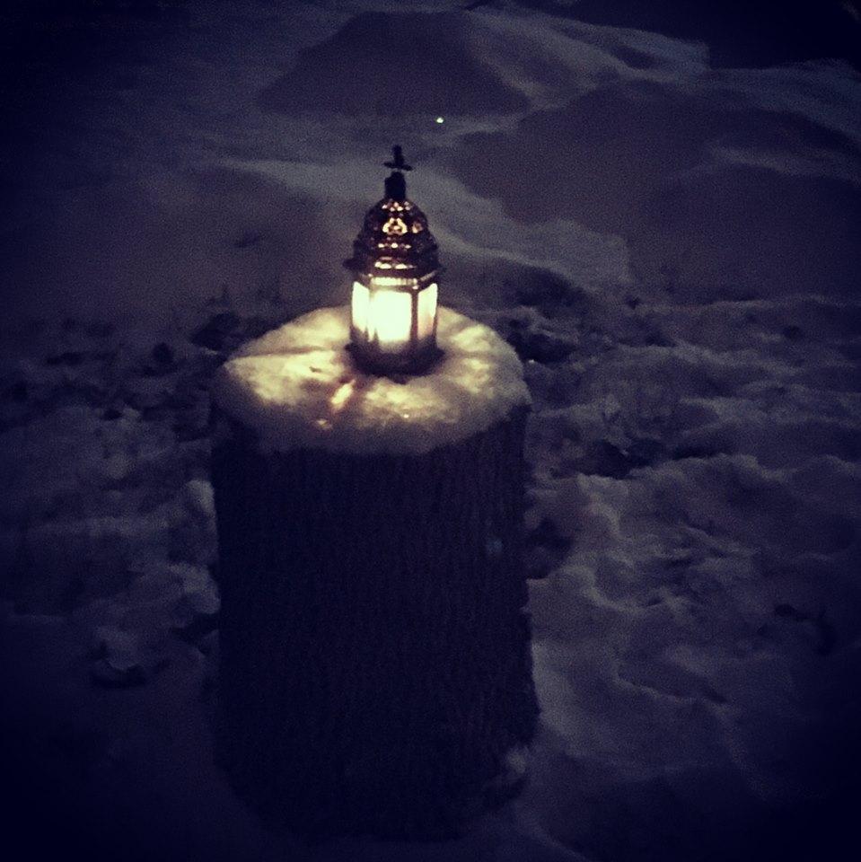 yule lantern